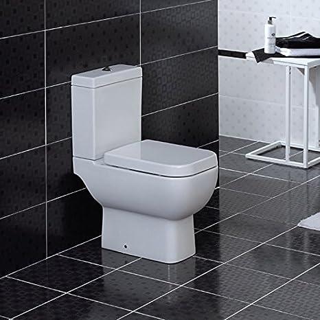 Wc Modern amazon com rak series 600 white coupled wc modern toilet with