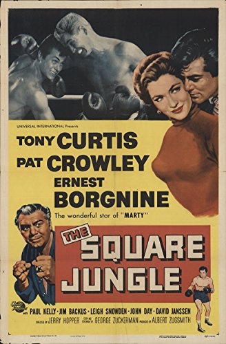 The Square Jungle 1956 Authentic 27