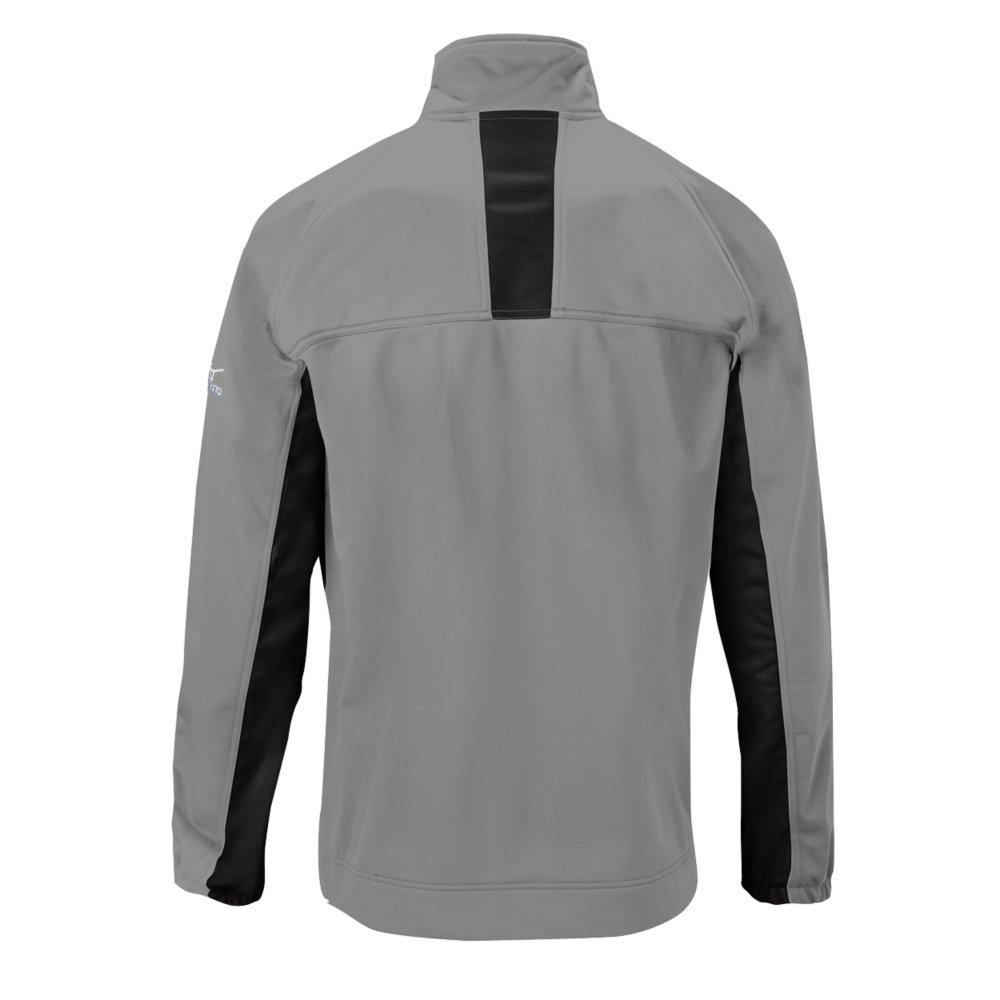Mizuno 350554.9190.04.S Pro Thermal Jacket S Grey-Black by Mizuno (Image #2)