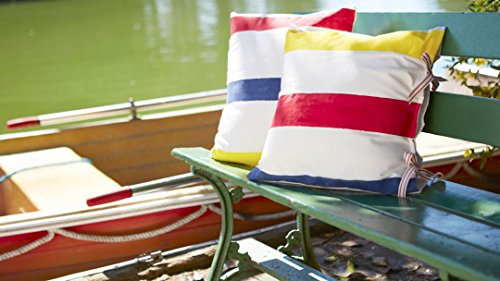 Painted Canvas Pillows