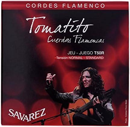 CUERDAS GUITARRA FLAMENCA - Savarez (T50R) Tomatito Tension Normal ...