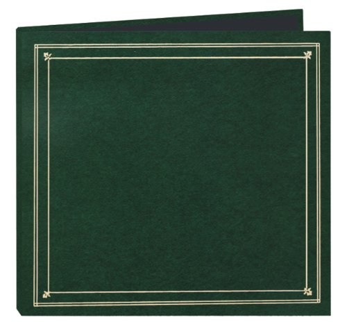 Pioneer Photo Albums 204-Pocket Post Bound Leatherette Cover Photo Album for 4 by 6-Inch Prints, Hunter Green by Pioneer Photo Albums