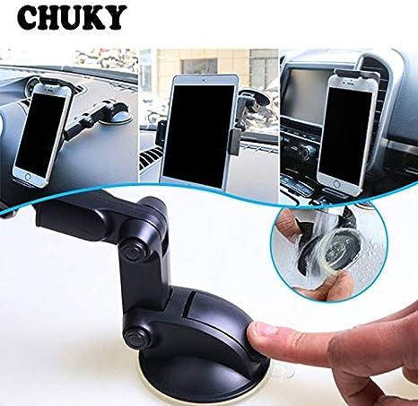 CHUKY Soporte de teléfono móvil para coche y tableta, soporte para ...