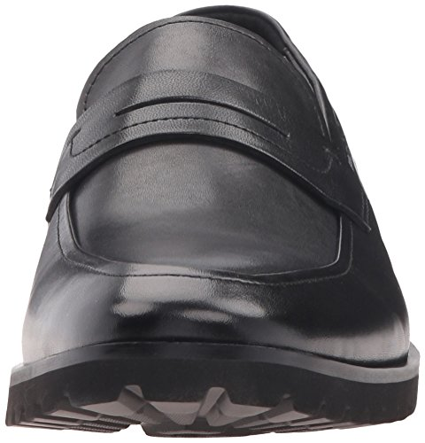 Kenneth Cole Reaction Para Hombre Soft-ball Penny Loafer Black