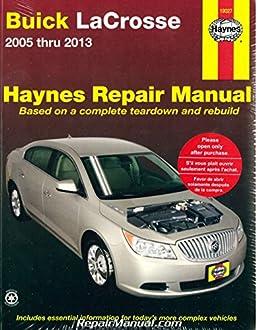 h19027 buick lacrosse 2005 2013 haynes repair manual manufacturer rh amazon com 2005 buick lacrosse repair manual 2005 buick allure repair manual