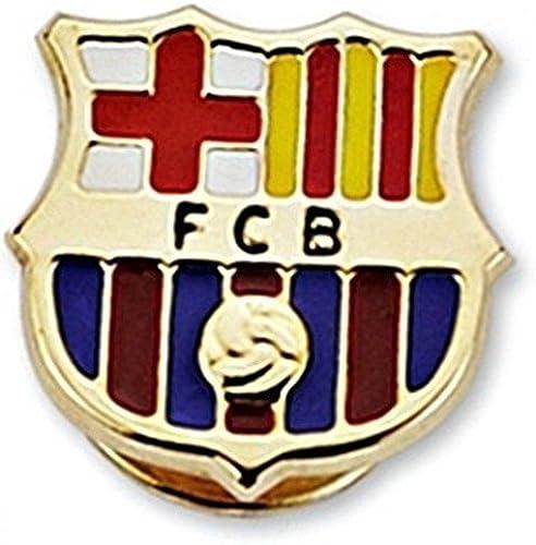 Pin escudo F.C. Barcelona oro de ley 9k 16mm. esmaltado [6536] - Modelo: 0510-036: Amazon.es: Joyería