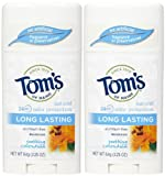 Tom's of Maine 24 Hour Long Lasting Deodorant Stick, Calendula - 2.25 oz - 2 pk