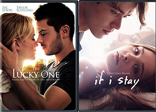 If I stay & The Lucky One DVD Double Feature Love Romance Movies 2-pack