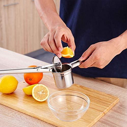 HYDDG Manual Limón Exprimidor, Mano Limón Exprimidor Naranjas Limas Agrios Exprimidor Exprimidor de Frutas, Rápido y Eficaz Jugos