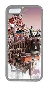 iPhone 5c case, Cute Cloudscape 5 iPhone 5c Cover, iPhone 5c Cases, Soft Clear iPhone 5c Covers