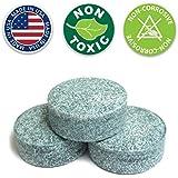 Urinal Cakes (12 Count Box of Urinal Deodorizer Blocks) - Non-Para Formula - Masculine Fragrance