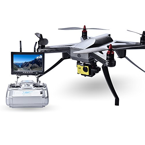 SPEEDWOLF VAJRA80 FPV Drone Quadcopter UAV Helicopter With 1080P HD Camera And Carbon Fiber 2D Gimbal with 5.8Ghz Transmitter+16GB TF Card+Drone tool kit