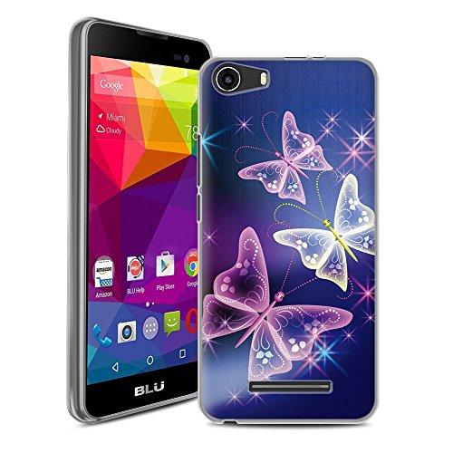 Blu Advance 5.0 Case, Blu Advance 5.0 Smart Phone Photo Pattern Protective Case (Digitalbutterfly)
