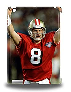 Awesome Design NFL San Francisco 49ers Steve Young #8 Hard 3D PC Case Cover For Ipad Air ( Custom Picture iPhone 6, iPhone 6 PLUS, iPhone 5, iPhone 5S, iPhone 5C, iPhone 4, iPhone 4S,Galaxy S6,Galaxy S5,Galaxy S4,Galaxy S3,Note 3,iPad Mini-Mini 2,iPad Air )