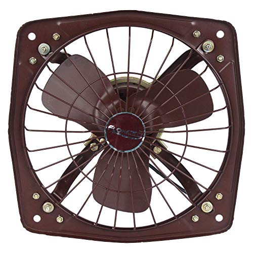 A & Y ® Made in India Metallic Finish Copper Metal Fresh Air 9 Inch (230 mm) Blade Size Exhaust Fan for Kitchen, Bathroom And Office Color-Black