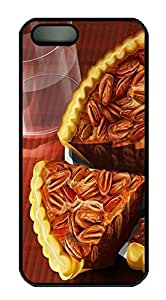 iPhone 5 5S Case Pecan Pie PC Custom iPhone 5 5S Case Cover Black by lolosakes