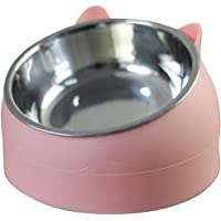 Yousir Cat Bowl Cat Food Bowl Cat Feeding Bowl Cat Water Bowl Stainless Steel Cat Bowl Multi-purpose Pet Bowl - 200ml…