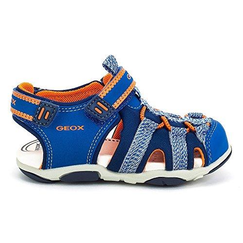 Geox Sandal Agasim Boy - B821AC05015C0685 - Color Blue - Size: 10.0 by Geox