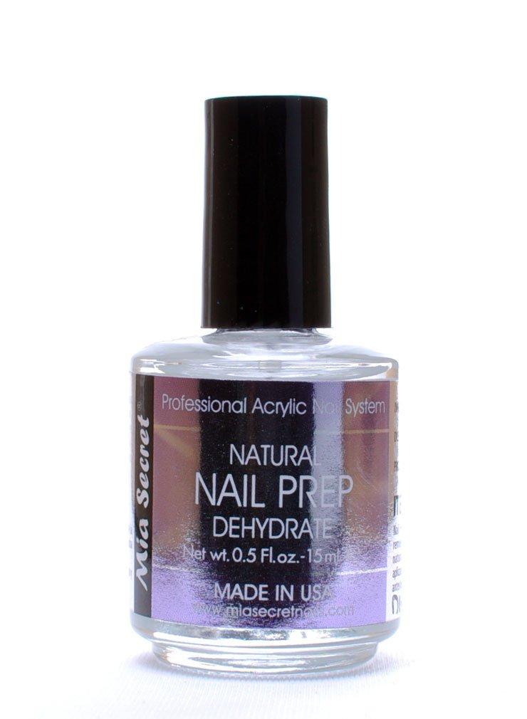 Amazon.com : Mia Secret Professional Natural Nail Prep Dehydrate 0.5 ...