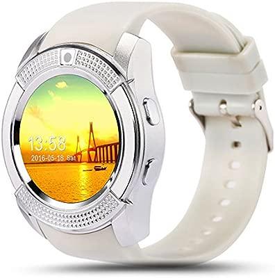 ZOMTOP V8 Deporte Bluetooth Ronda de la muñeca Smart Watch ...