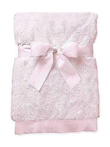 Bearington Baby Small Silky Soft Security Blankie (Pink), 16