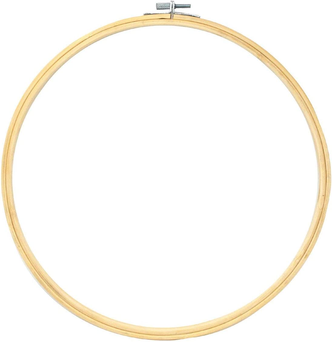 Bamboo Embroidery Hoops 12 9 7 5 Inch 8 PCs for Cross Stitch Needlepoint Art Ornament Circle Frame; by Mandala Crafts Needlework