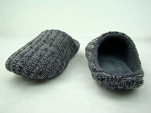 CHICIEVE Pantofole Da Uomo In Cotone Da Interno,Pantofole Da Casa Antiscivolo In Maglia Scarpe Eleganti e Comode Autunno Inverno Coppia Pantofole In Cotone Da Uomo Donna (41)