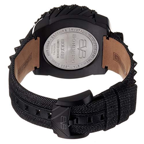 Bomberg BS45APBA.039-3.3 Men's Punk Nails Black Swiss Automatic 45mm Watch