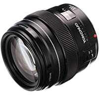 Yongnuo 100mm F2 Medium Telephoto Prime AF MF Lens for Canon EOS Rebel 5D 5D IV 1300D T6 760D 750D 1D 5DS Camera