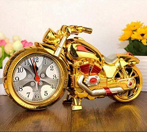 Wake up Motorcycle Ringer Creative Retro Alarm Clock Model Motorcycle - Motorcycle Ringer