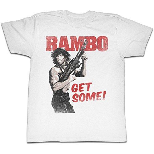 Obtenir D'action Thriller shirt Du Tee Film Pour American Classics Guerre De 1980 Certain Rambo Un Homme 0H8qwP1