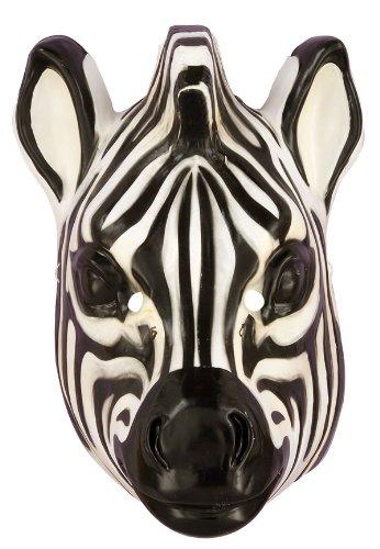 Deluxe Adult Zebra Mask
