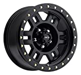 Vision 398 Manx 16x8 5x127/5x5'' +0mm Matte Black Wheel Rim