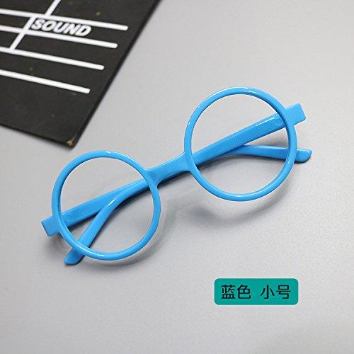 WANGMIN® Lunettes De Soleil Fashion Classic Brand Designer Lunettes De Soleil Vintage Twin Beam Metal Frame Glasses , B