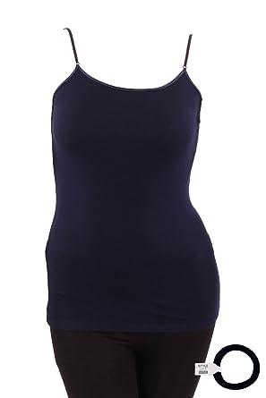 fc9f5313b9e MOPAS Women s Plus Size Cotton Cami Tank Top with Style Like Mine  Hairband-XL-
