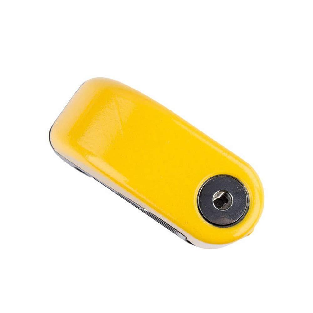 Motorbike Heavy Duty Padlock Anti-Theft Security Lock Set Set A Maso Alarm Disc Brake Lock 1.5m Reminder Cable Motorcycle Handlebar Lock