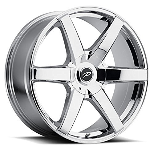 Pacer 785V Ovation Wheel with Chrome Finish (20x8.5/5x4.50, 40mm Offset)