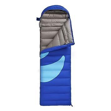 HCMONSTER Saco de Dormir Saco de Dormir para Acampar de Invierno Portátil Ultraligero Abajo Saco de Dormir Diseño de Empalme de Viaje para Camping, ...