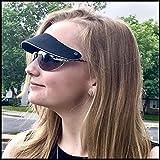 Sun Visor attaches to your sunglasses