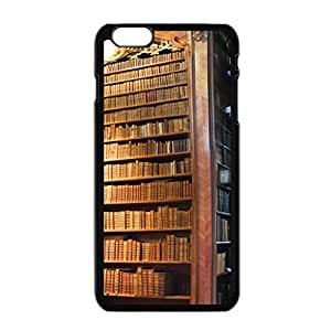New Modern Customized Old Library Bookshelf Cool Beautiful Iphone 6 Plus case 5.5 inch