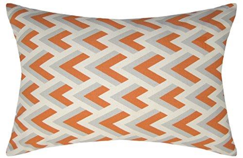 JinStyles Cotton Canvas Chevron Spike Accent Decorative Lumb
