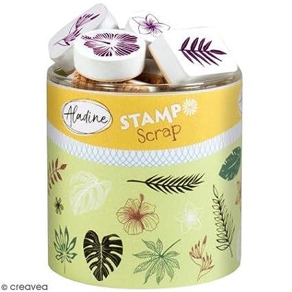 Aladine 03744/Stampo Scrap giungla