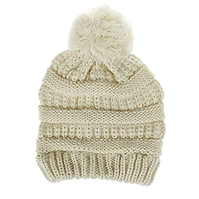 TUSANG Toddler Infant Baby Kids Boys Girls Fashion Knited Woolen Headgear Hat Cap Professional Cap Beige