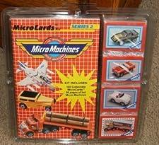 Galoob Micromachines Micro Machines MicroCards Series 2 Kit