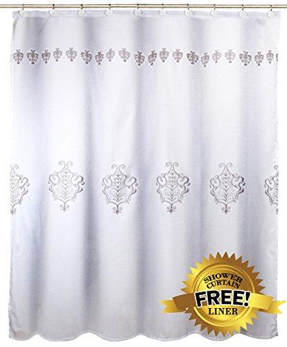 Vintage White Decorative Fabric