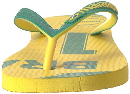 Pictures of Havaianas Teams Iii-Brazil Sandal Yellow/Green 9.5 M US 5