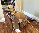 Lubber German Shepherd Dog Latex Animal Head Mask For Halloween Costume