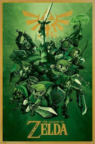 Póster Zelda - cartel económico, póster XXL