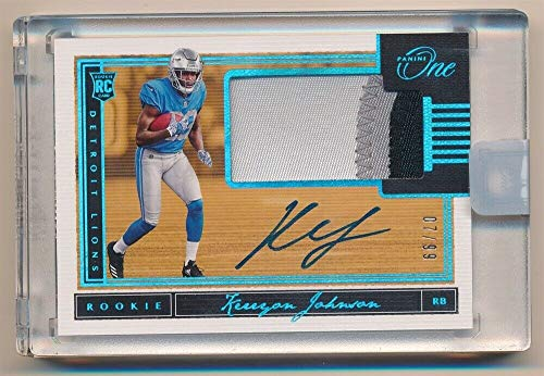 BIGBOYD SPORTS CARDS KERRYON Johnson 2018 PANINI ONE RC Rookie Autograph 3 Color Patch AUTO SP #07/99 ()