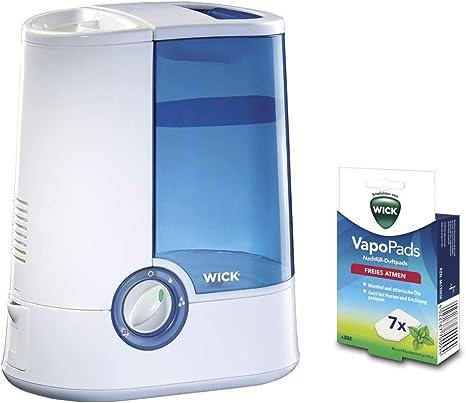 Vicks Warm Mist Humidifier with Vapo Pads Menthol Bundle